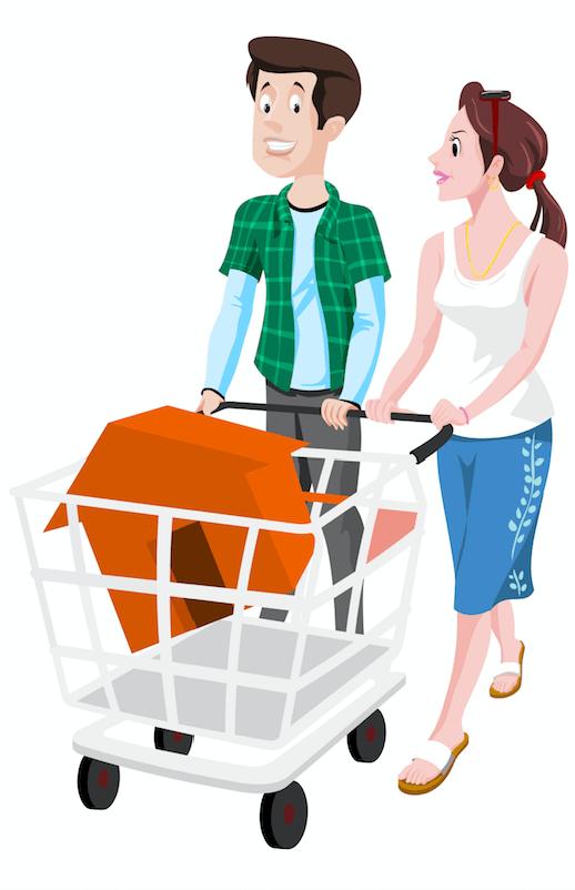 Par som köper ett hus
